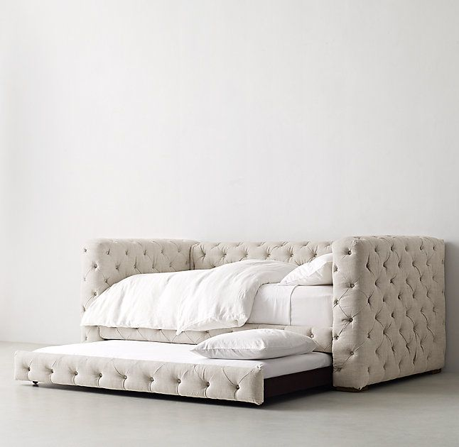 Tribeca Tufted Daybed With Trundle Daybed Obsession