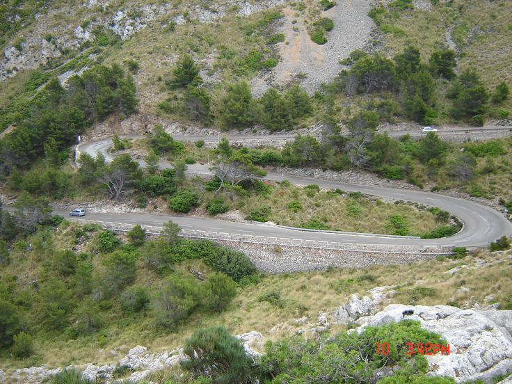 Winding road - Mallorca