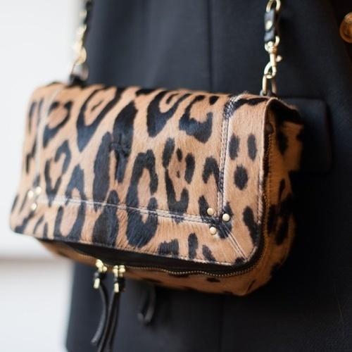 Bobi Shoulder Bag Leopard Jerome Dreyfuss b3mkXuD