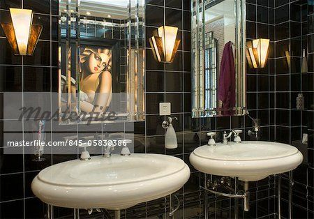 Lolita Art Deco Bathroom Colonial French British Colonial Deco Artists