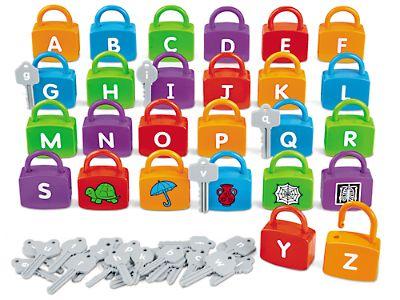 Alphabet Learning Locks at Lakeshore Learning