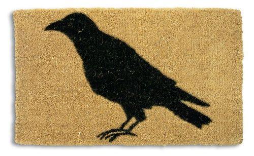 Tag Black Crow Coir Doormat - Doormats at Hayneedle