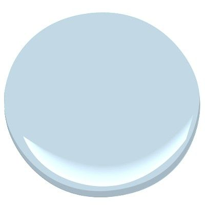 Benjamin Moore-Sky Blue...accent wall in living room