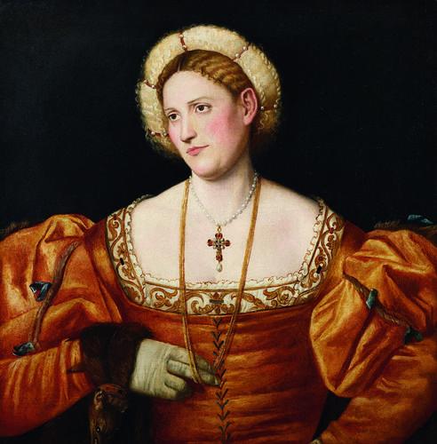 1525-1530 Bernardino Licinio - Portrait of a woman