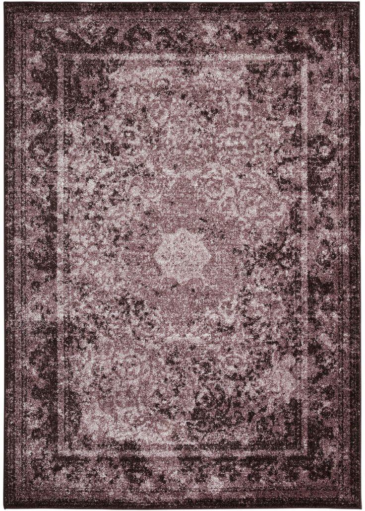 """Teppich """"Zoe"""" flieder - bpc living jetzt im Online Shop von bonprix.de ab ? 7,99 bestellen. Gewebter Teppich mit einem Orientmuster in Vintage Optik, extra ..."""