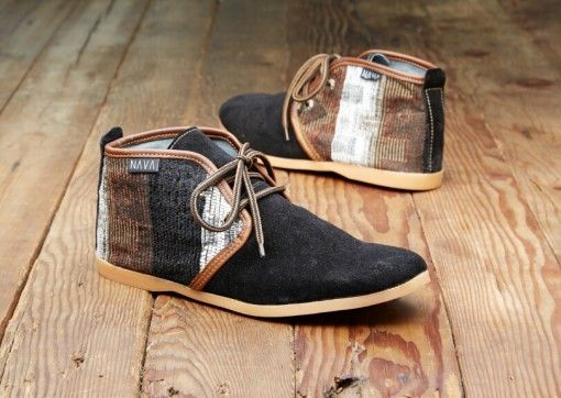 Dessert Shoes 'Tswana' Black Suede