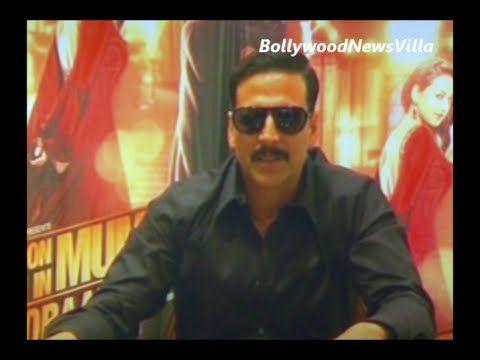 akshay kumar - playing a negative role on screen is fun.