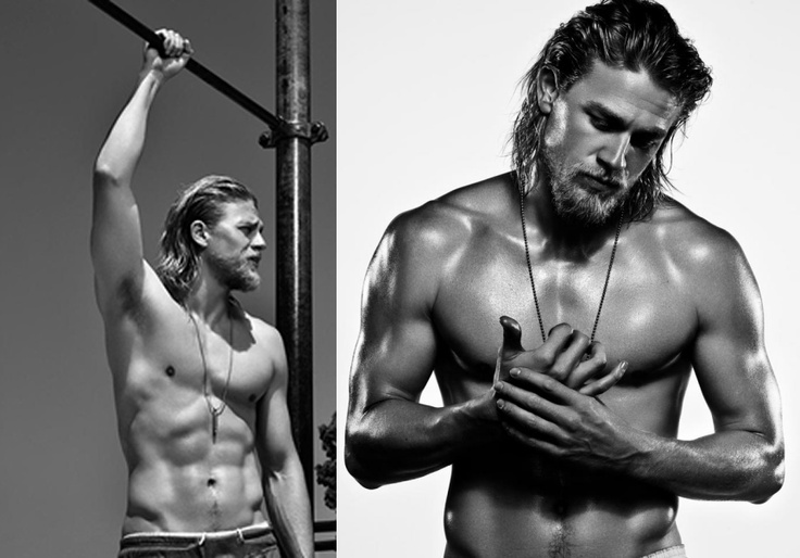 Charlie Hunnam from Sons of Anarachy :)