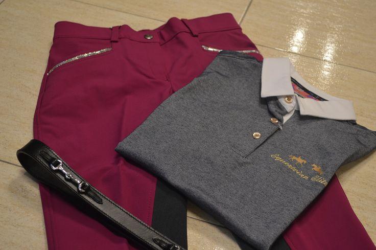 NUEVA COLECCIÓN !! Pantalón,Polo y Cinturón de la marca HKM Disponible en Tot Cavall. Pedidos WhatsApp: ☎638191092 Tienda Online. www.totcavall.com Pantalón: 89,95€ Polo: 39,95€ Cinturón: 29,95€