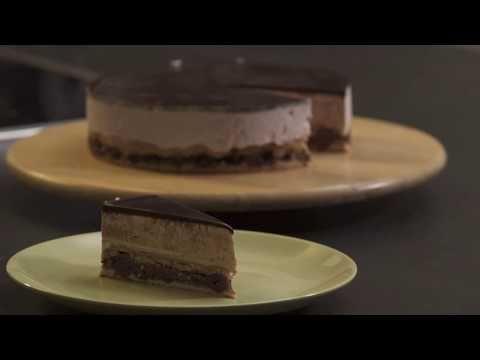 Vörösbor torta - YouTube
