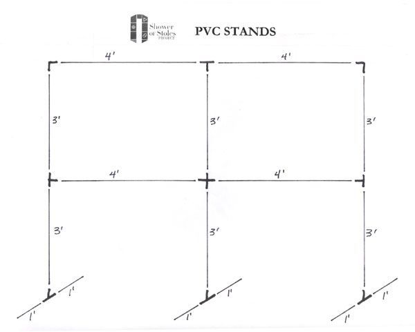 Image result for pvc pipe backdrop stand