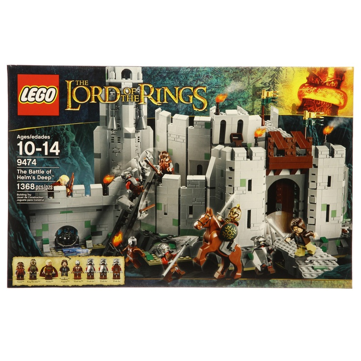 lego lord of the rings manual