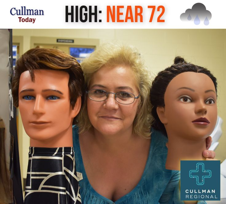 CULLMAN COUNTY WEATHER, Friday, February 16, 2018, NON-FEBRUARY-LIKE WARMTH: 60% chance of scattered light rain. Mostly cloudy with a very high temperature of 70° dropping later in the today. West northwest winds of 10 to 15 mph.