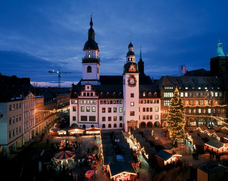 Christmas Market - Chemnitz, Germany