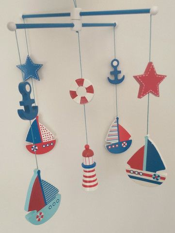 Nautical Wooden Mobile