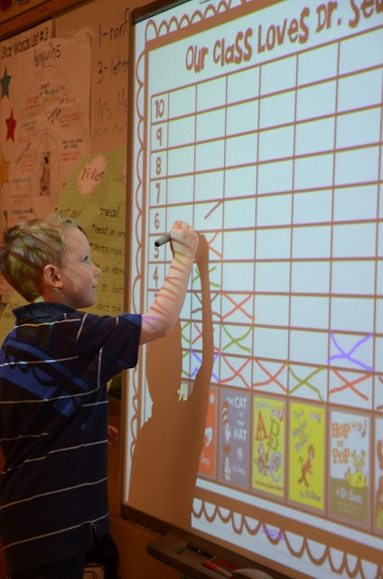 Kindergarten Calendar Interactive Whiteboard : Best images about dr seuss on pinterest