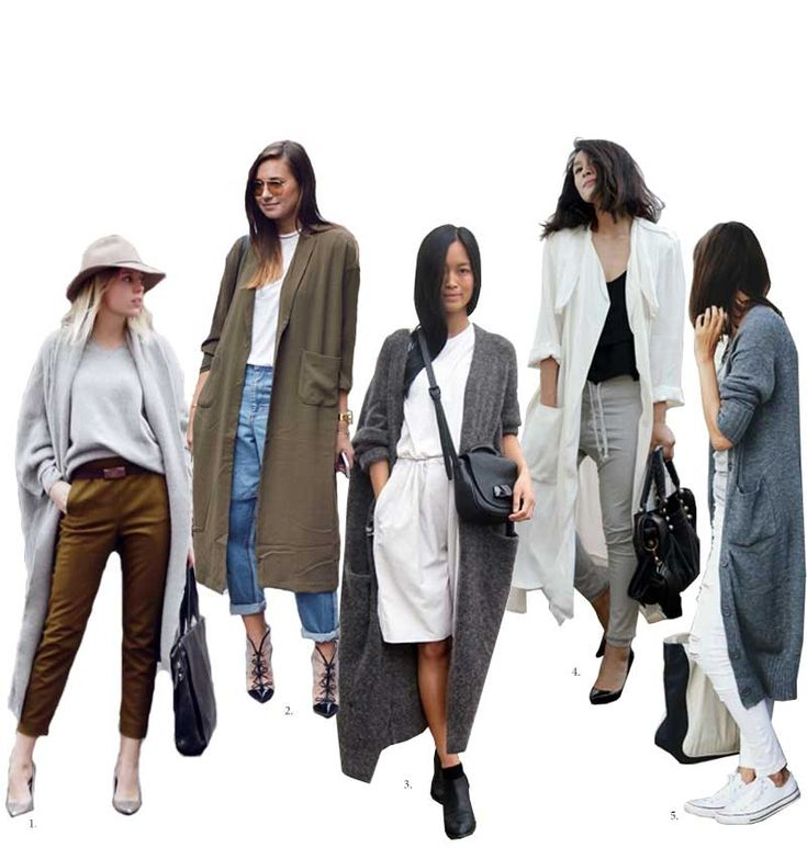 W&D Style: The Floor-Sweeping Cardigan Look - Wit & Delight