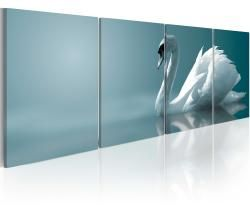 Картина животных - лебедь