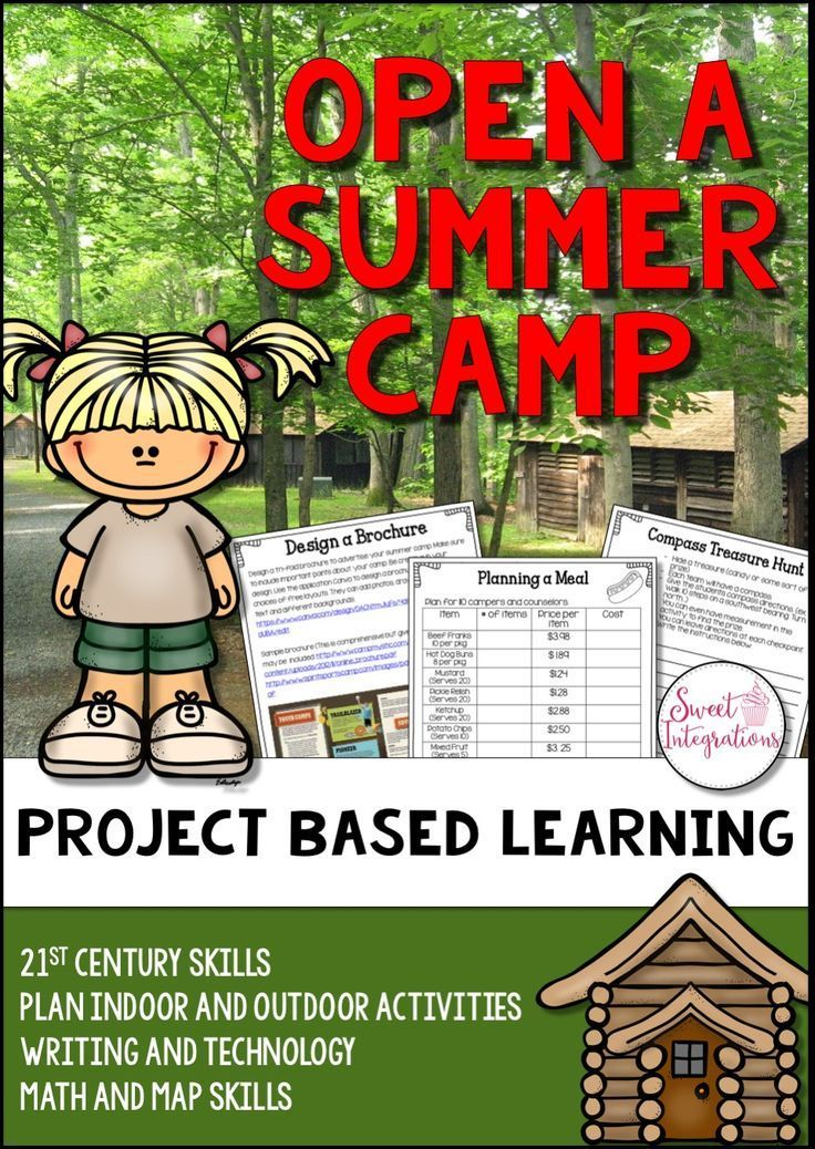 In this PBL unit, students will plan an overnight summer camp for children. In groups they'll decide on the theme of the camp and age of the campers. Will it focus on sports, music, art, horseback riding, etc? This pbl unit incorporates 21st Century Learn