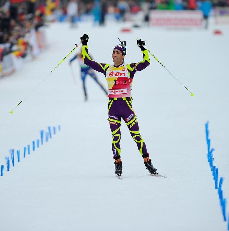 Martin Fourcade: the bright winner!