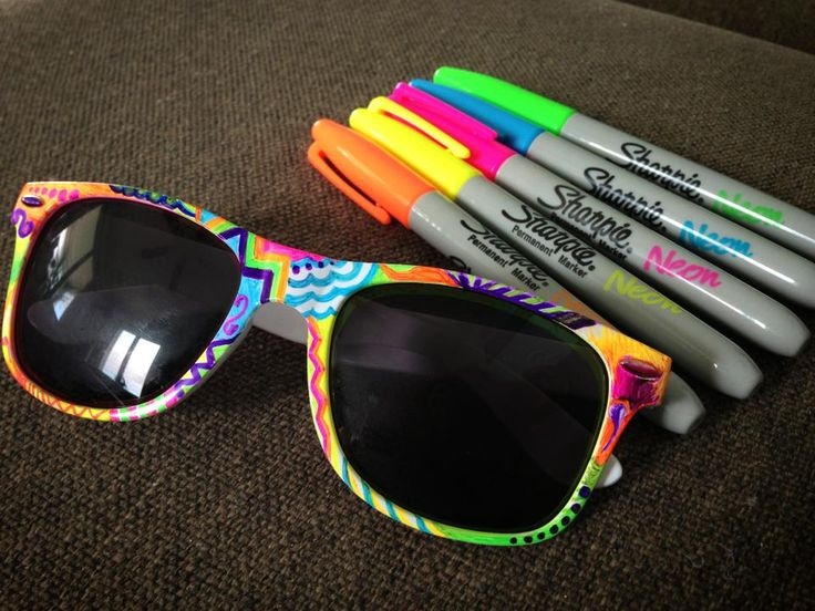 Awesome Sharpie Marker Crafts - Sunlit Spaces