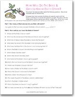 """Printable Bride and Groom """"Know Each Other"""" Game"""
