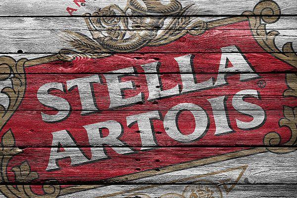 Stella Artois Print By Joe Hamilton