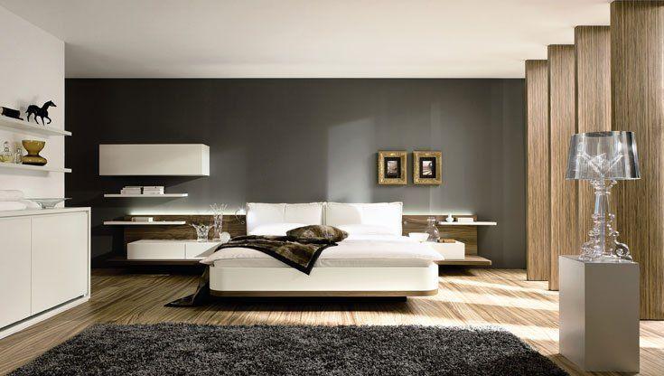 Pareti camera da letto grigio