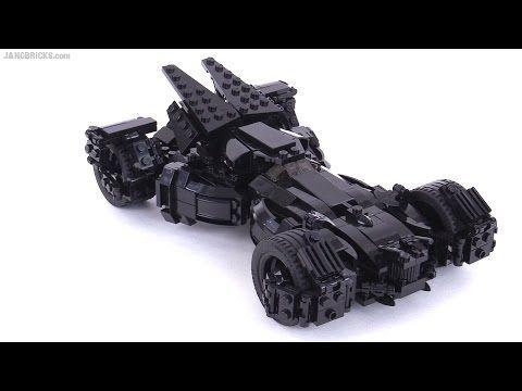 Custom LEGO Batman vs. Superman Batmobile MOC (2nd look) - YouTube