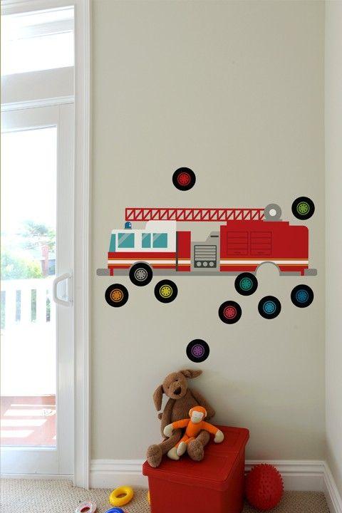 Die besten 17 Ideen zu Feuerwehrauto Zimmer auf Pinterest