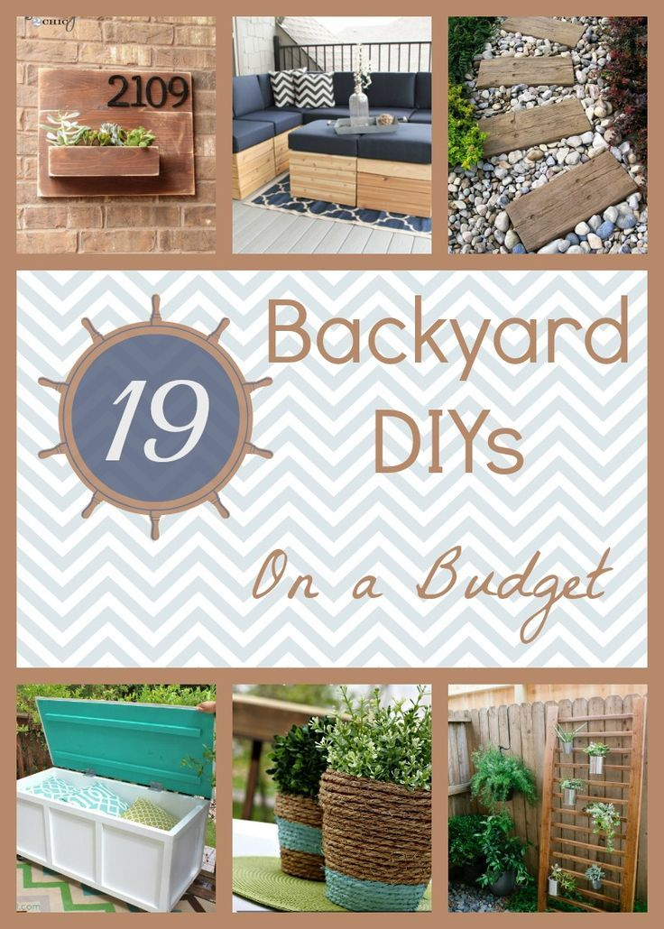 The 25 best cheap backyard ideas ideas on pinterest for Cheap backyard makeover ideas