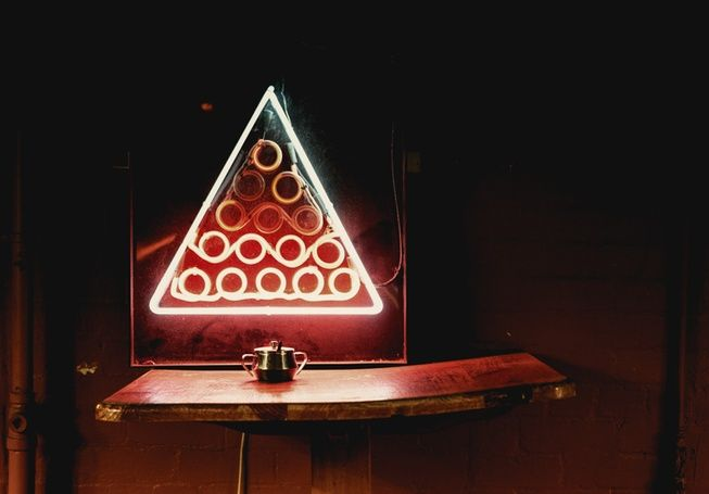 Red Triangle: The Old Snooker Hall - Art & Design - Broadsheet Melbourne