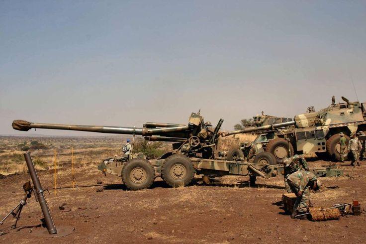 South African G5 155mm artillery