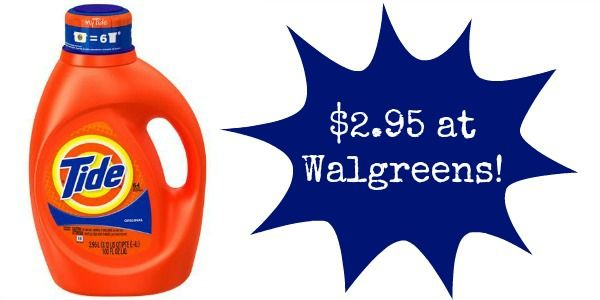 Walgreens: Tide Laundry Detergent Only $2.95!