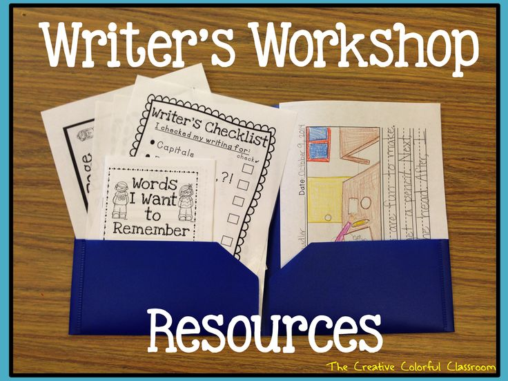 Setting Up Writing Folders-Writer's Workshop Resources