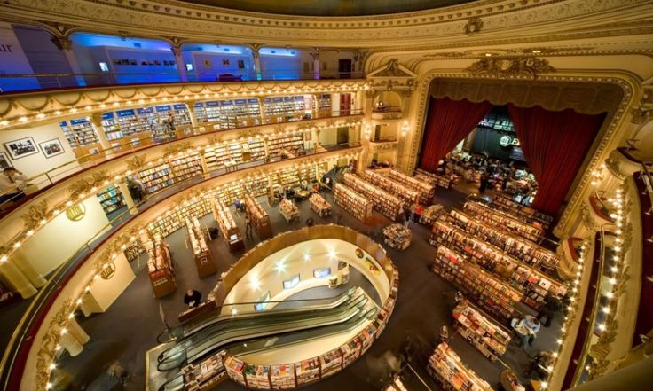 A novel oasis: Why Argentina is the bookshop capital of the world