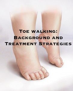 Idiopathic Toe Walking Toe Walking is defined as the failure of the heel to contact the floor at the onset of stance during the gait cycle, resulting in a bilateral toe to toe gait.