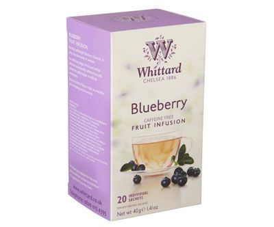 Whittard Blueberry Fruit Infusion, 20 teposer