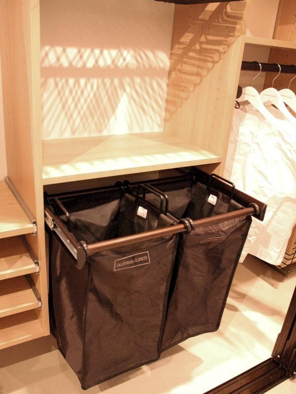 Terrific Built In Closet Hampers Home Decor