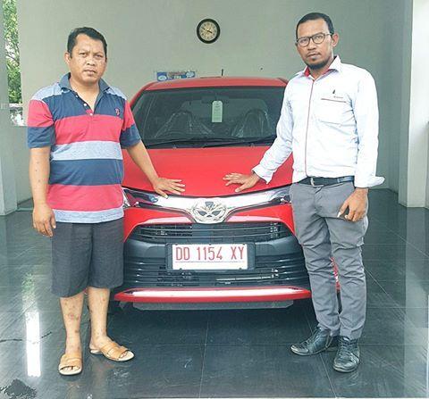 Terima kasih banyak Buat Pak Ali Habibi Kepercayaan Pembelian Kendaraan melalui www.toyota-makassar.net..semoga tiba di tujuan dengan selamat pak..info Promo