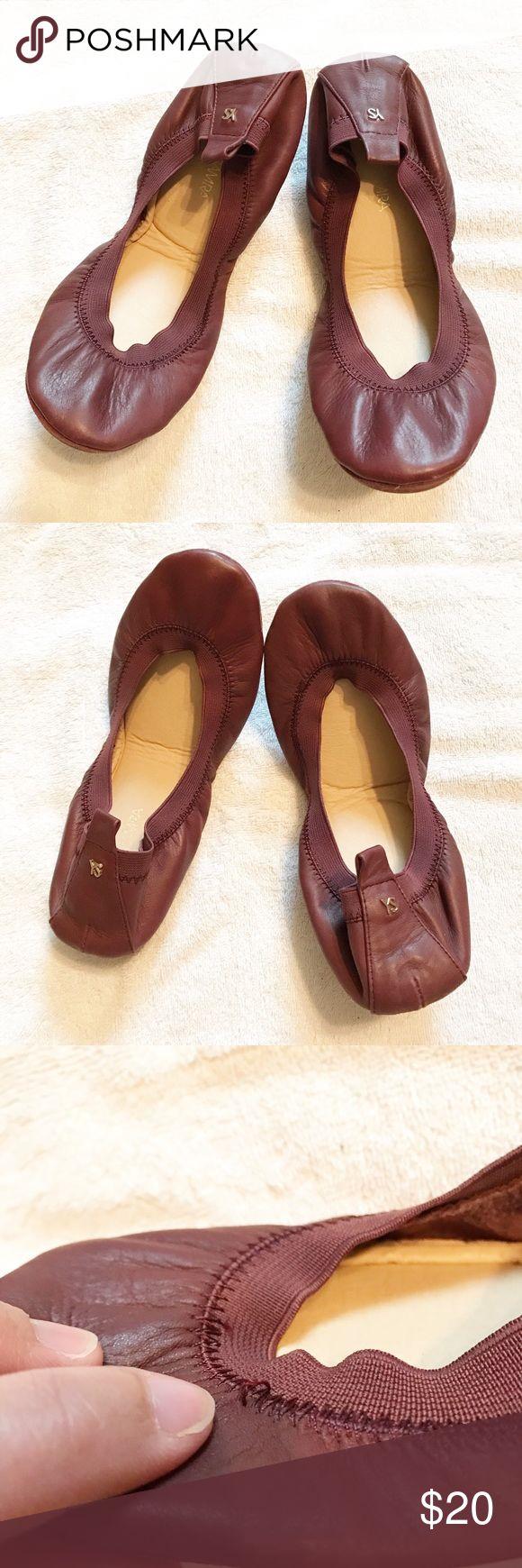Yosi Samra Foldable Shoes Used. No box. Yosi Samra Shoes
