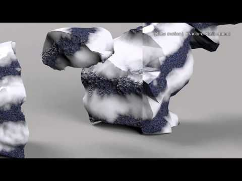 Siggraph 2014: Physics-Inspired Adaptive Fracture Refinement - YouTube