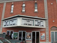 Theater from the outside!