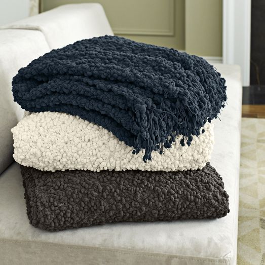 """These throw blankets will bring a feeling of """"home"""" to your space with their warm & cozy feel."""