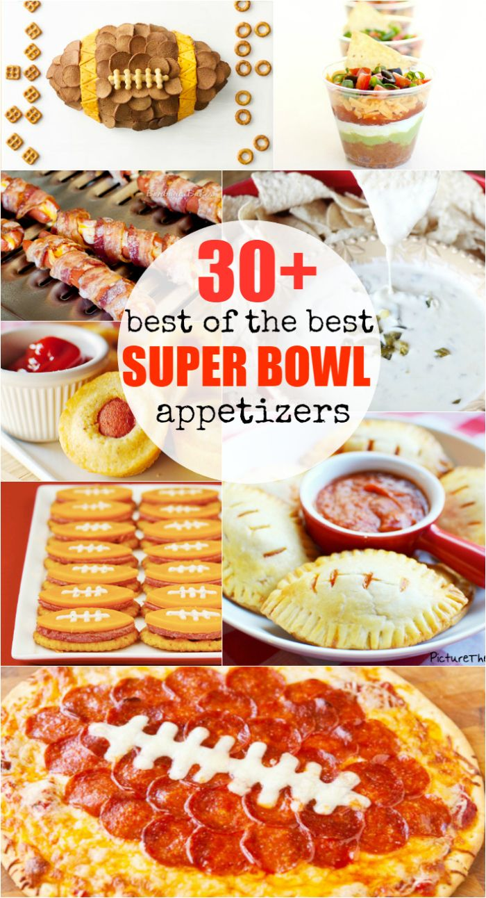 30 best of the best superbowl appetizers