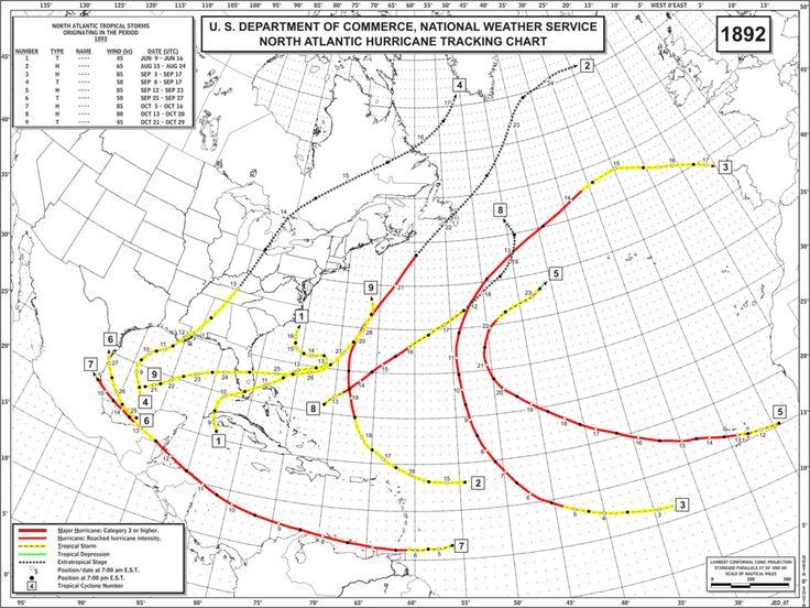 1892 hurricane Cape Verde....