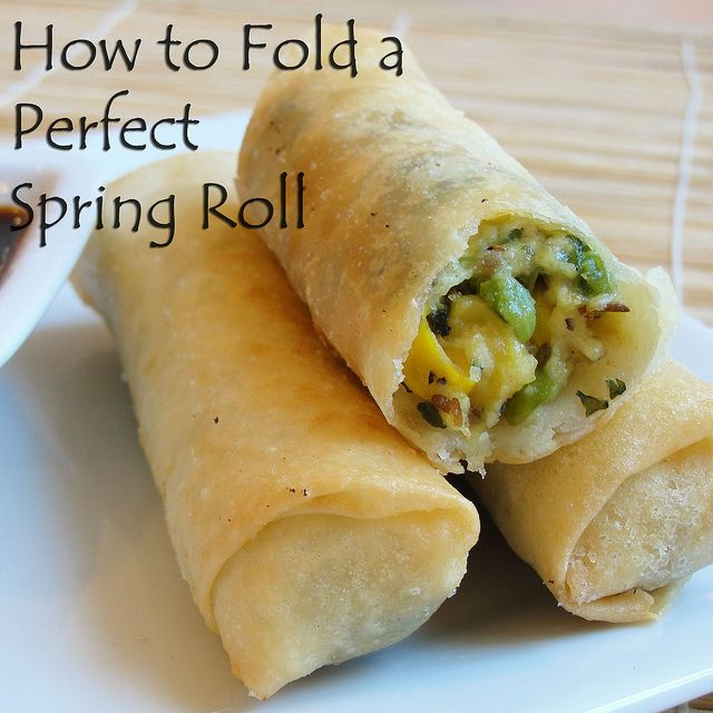 45 best desi munchies and junk food images on pinterest indian how to fold a perfect spring roll 2 by korasoi via flickr punjabi recipesindian recipesindian foodscooking forumfinder Image collections