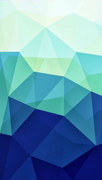 Blue Polygons #iphonewallpaper. Click to get the right resolution