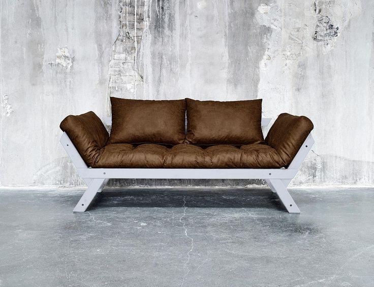17 migliori idee su letto futon su pinterest camera da - Costruire un divano in legno ...