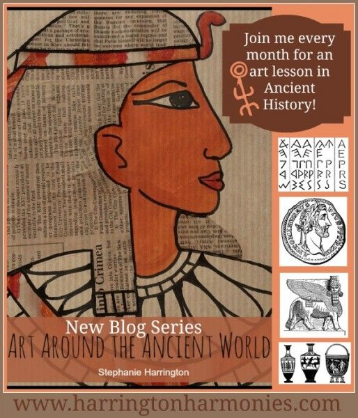 Explore the cave paintings and rock art of the ancients with prehistoric art for kids. Enhances any ancient history homeschool plans.
